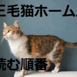 三毛猫ホームズシリーズの読む順番