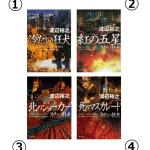 渡辺裕之『冷たい狂犬シリーズ』の読む順番と各巻あらすじまとめ